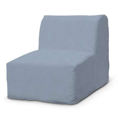 Pokrowiec na fotel Lycksele prosty w kolekcji Chenille, tkanina: 702-13
