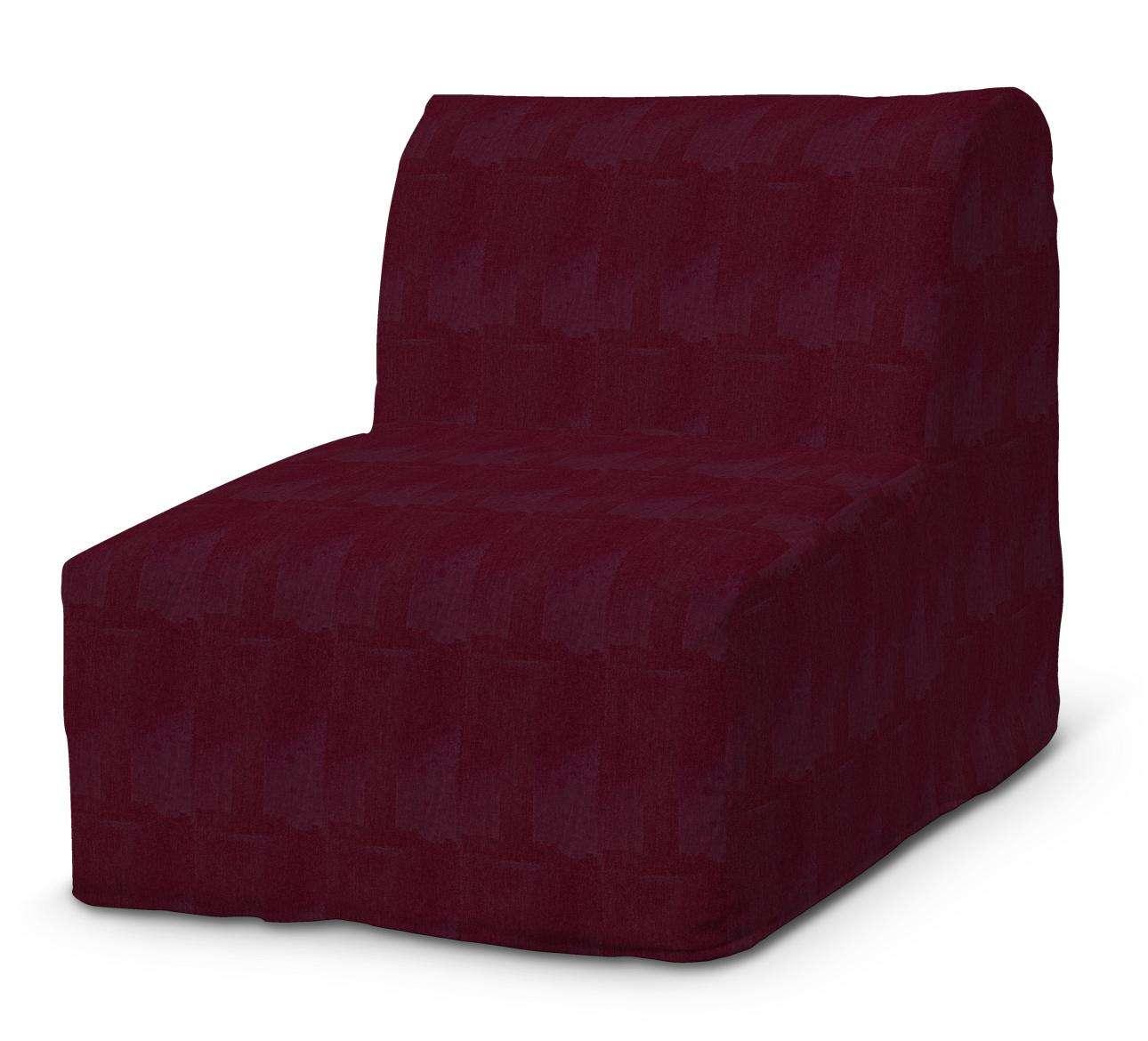 Pokrowiec na fotel Lycksele prosty w kolekcji Chenille, tkanina: 702-19