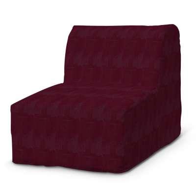 Lycksele fotelio užvalkalas 702-19 bordo šenilinis audinys Kolekcija Chenille