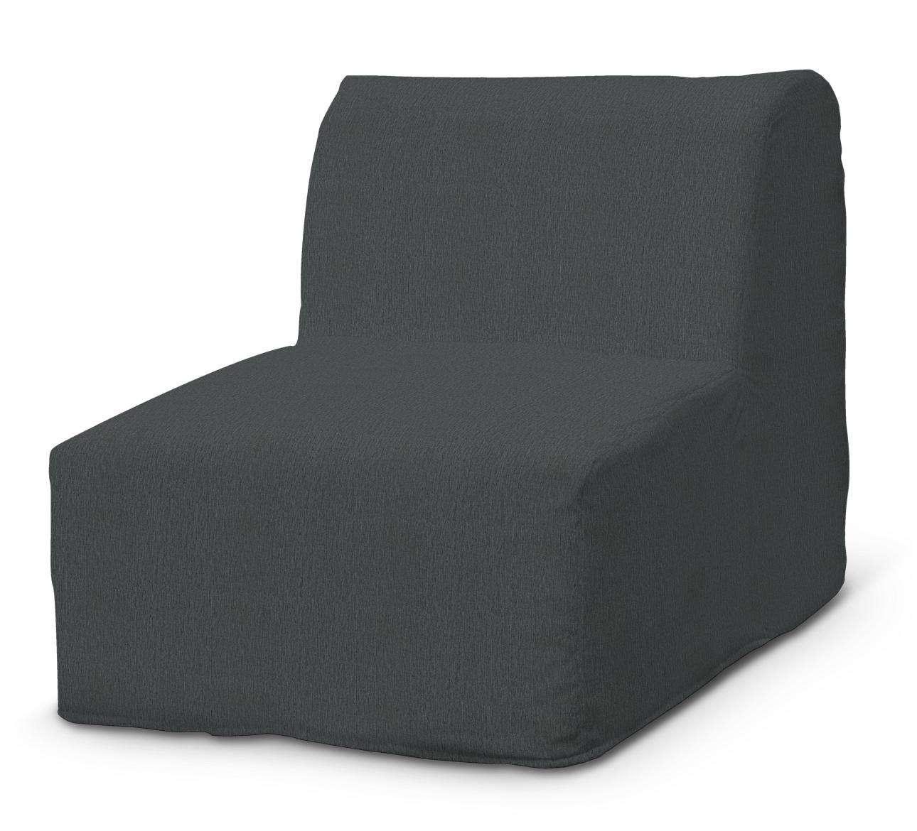 Betræk til IKEA Lycksele lænestol med flæse forneden fra kollektionen Chenille, Stof: 702-20