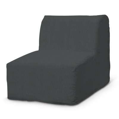 Pokrowiec na fotel Lycksele prosty w kolekcji Chenille, tkanina: 702-20