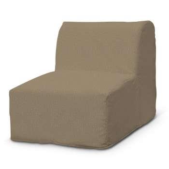 Betræk til IKEA Lycksele lænestol med flæse forneden fotel Lycksele fra kollektionen Chenille, Stof: 702-21