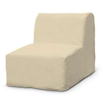 Betræk til IKEA Lycksele lænestol med flæse forneden fra kollektionen Chenille, Stof: 702-22