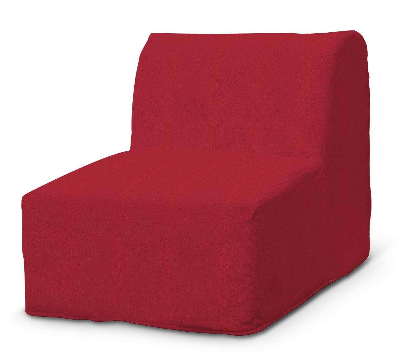 Pokrowiec na fotel Lycksele prosty fotel Lycksele w kolekcji Chenille, tkanina: 702-24