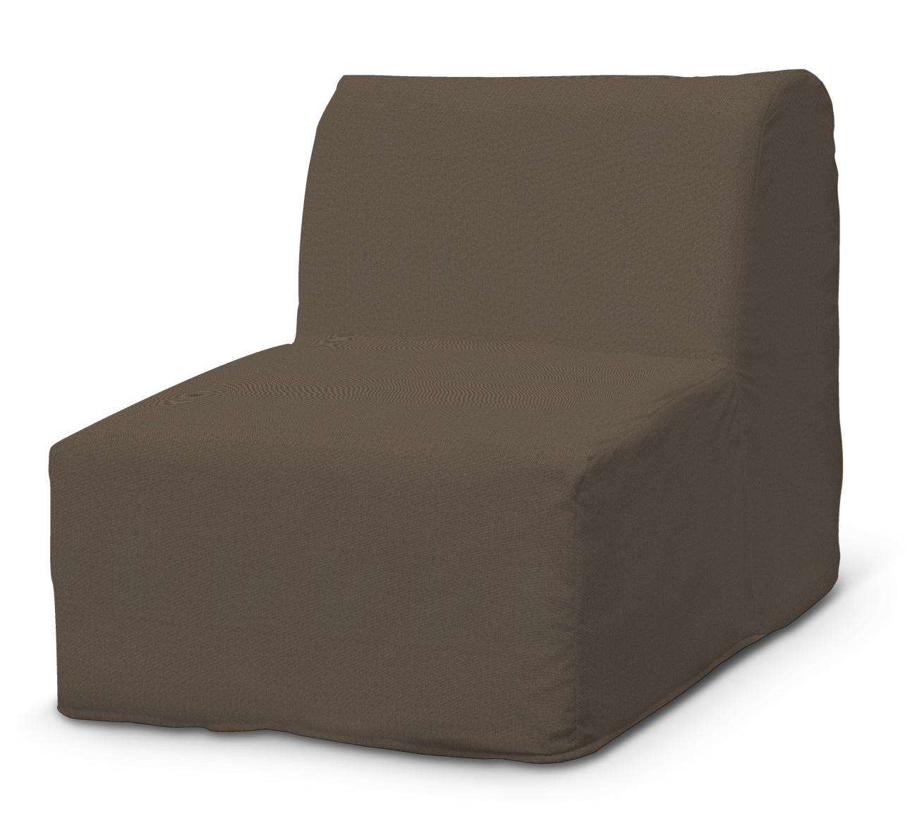 Lyckesele trekk lenestol med volang fra kolleksjonen Etna - Ikke for gardiner, Stoffets bredde: 705-08