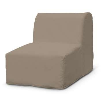 Pokrowiec na fotel Lycksele prosty w kolekcji Cotton Panama, tkanina: 702-28