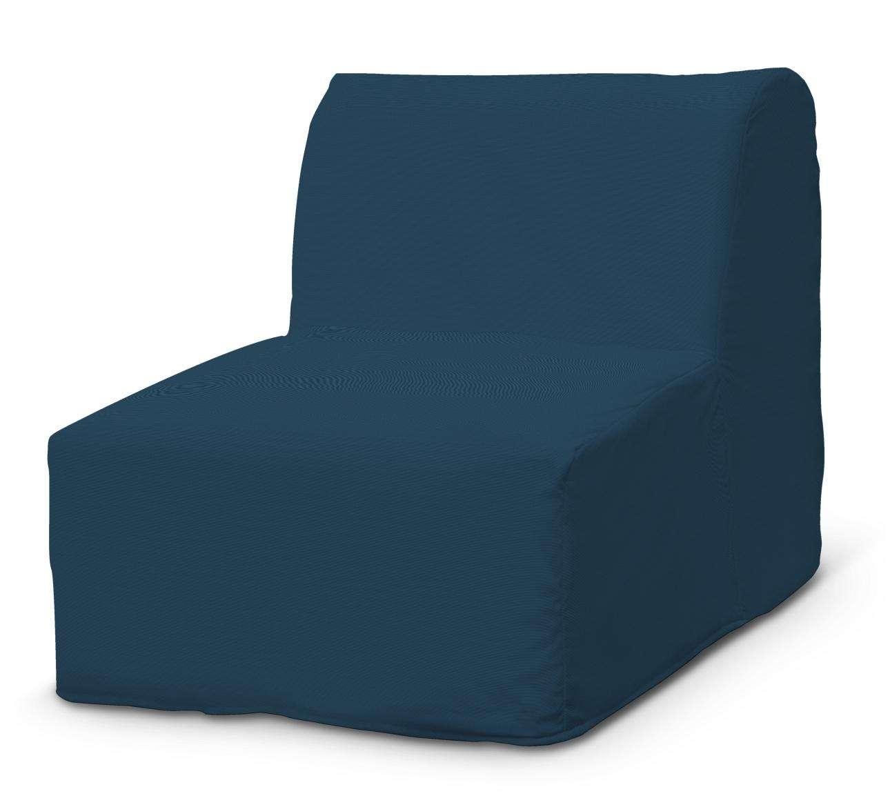 Pokrowiec na fotel Lycksele prosty w kolekcji Cotton Panama, tkanina: 702-30