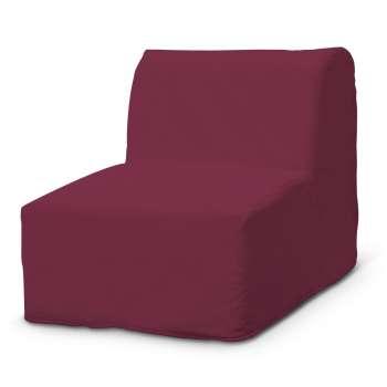 Pokrowiec na fotel Lycksele prosty fotel Lycksele w kolekcji Cotton Panama, tkanina: 702-32