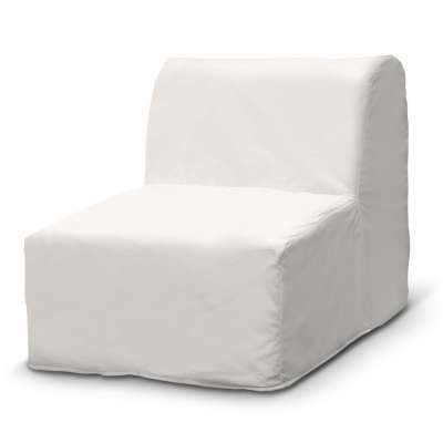 Lycksele fotelio užvalkalas 702-34 balta Kolekcija Cotton Panama