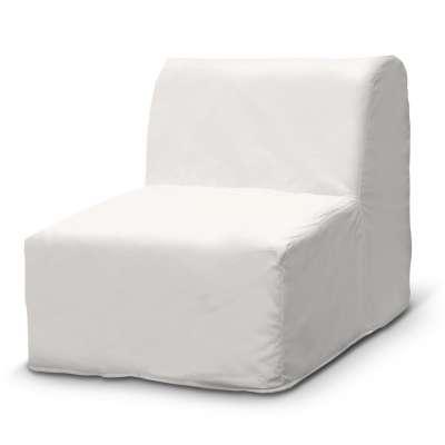 Pokrowiec na fotel Lycksele prosty w kolekcji Cotton Panama, tkanina: 702-34