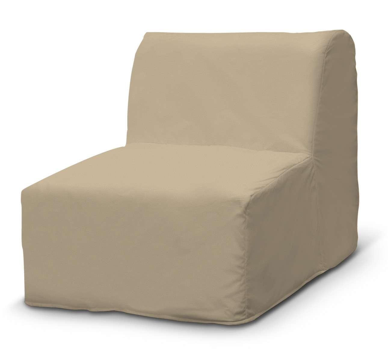 Pokrowiec na fotel Lycksele prosty w kolekcji Living II, tkanina: 160-82