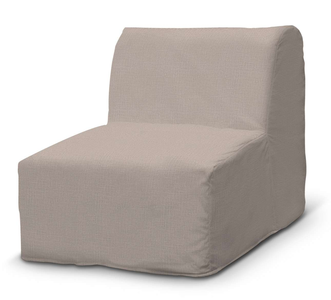 Pokrowiec na fotel Lycksele prosty w kolekcji Living II, tkanina: 160-85