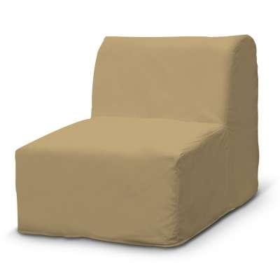 Pokrowiec na fotel Lycksele prosty 160-93 piaskowy szenil Kolekcja Living II