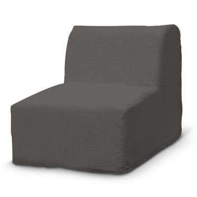 Pokrowiec na fotel Lycksele prosty 161-16 ciemno szary Kolekcja Living II