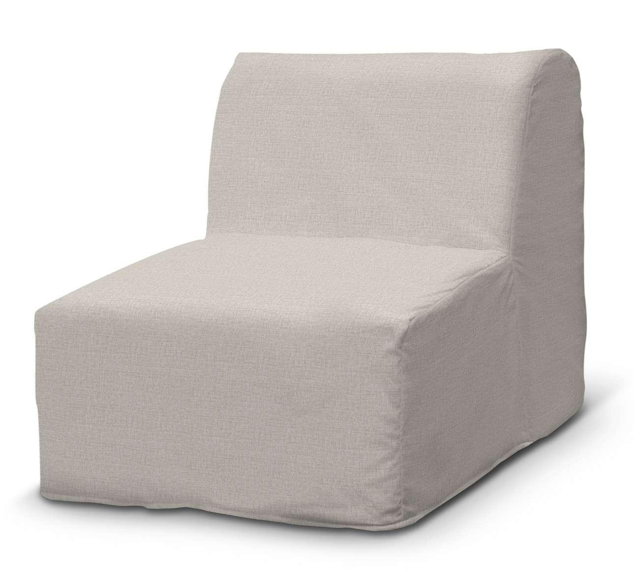 Pokrowiec na fotel Lycksele prosty w kolekcji Living, tkanina: 161-00