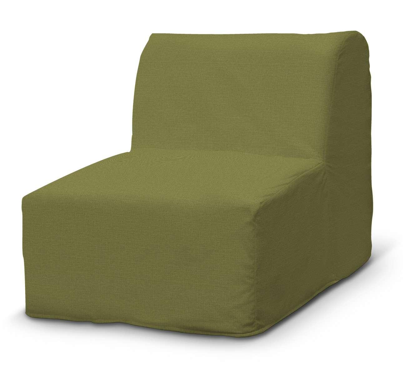 Pokrowiec na fotel Lycksele prosty w kolekcji Living, tkanina: 161-13