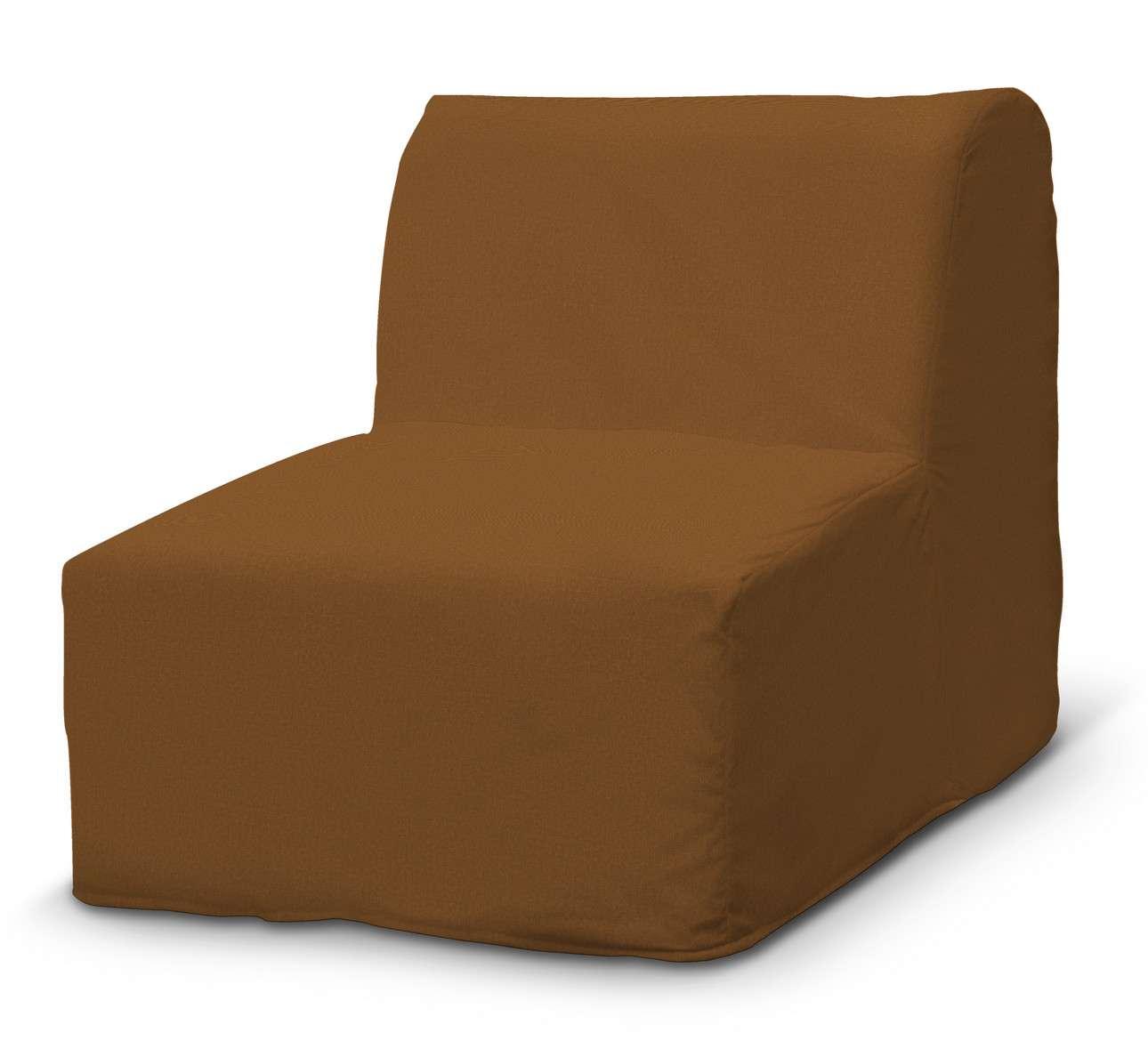 Pokrowiec na fotel Lycksele prosty w kolekcji Living, tkanina: 161-28