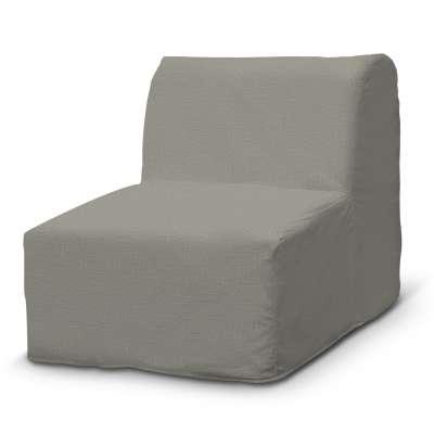 Pokrowiec na fotel Lycksele prosty 161-83 jasno szara jodełka Kolekcja Bergen