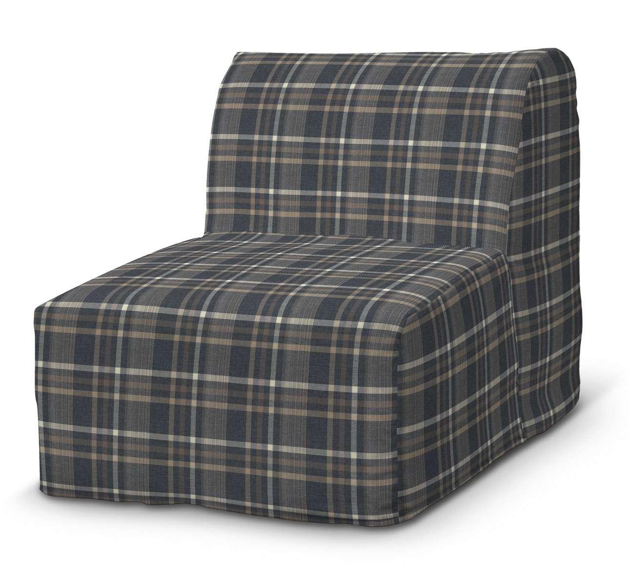 Pokrowiec na fotel Lycksele prosty w kolekcji Edinburgh, tkanina: 703-16