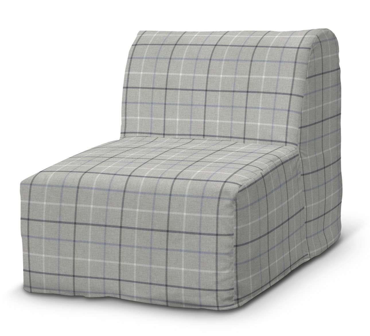Pokrowiec na fotel Lycksele prosty w kolekcji Edinburgh, tkanina: 703-18
