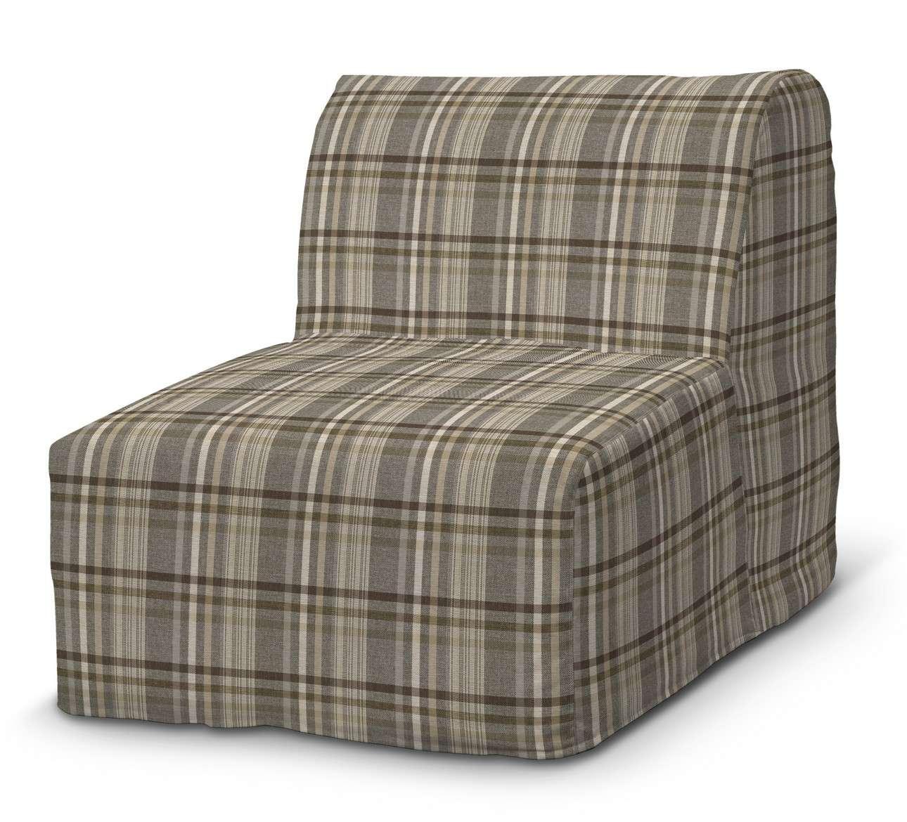 Pokrowiec na fotel Lycksele prosty w kolekcji Edinburgh, tkanina: 703-17