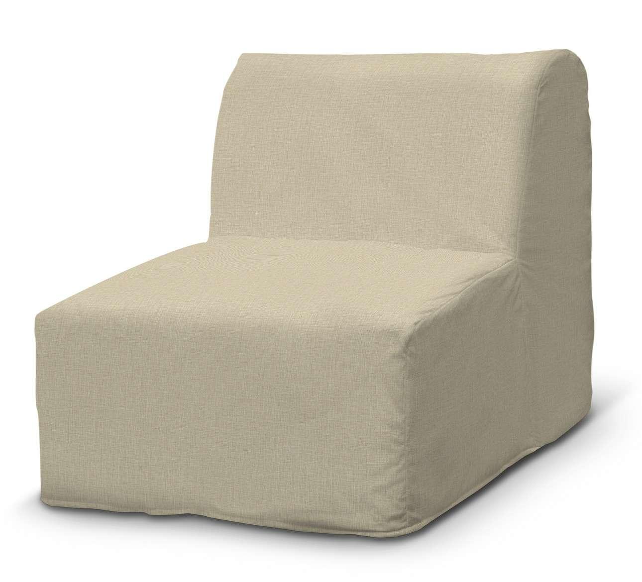 Pokrowiec na fotel Lycksele prosty w kolekcji Living, tkanina: 161-45
