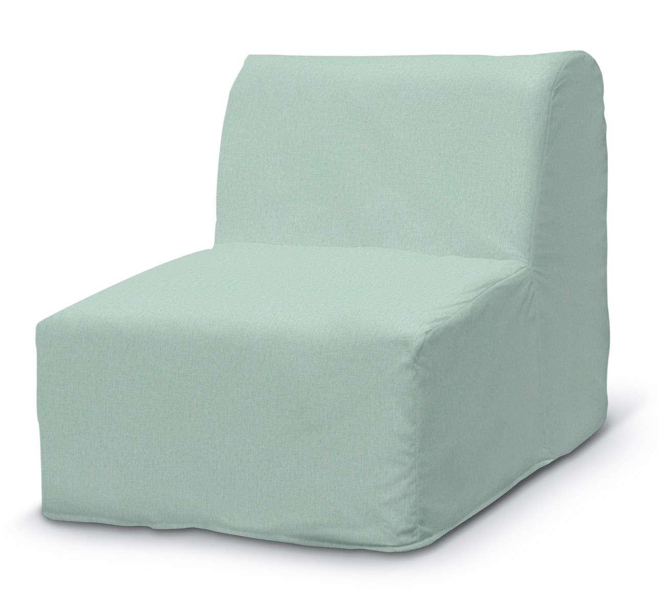 Pokrowiec na fotel Lycksele prosty w kolekcji Living, tkanina: 161-61