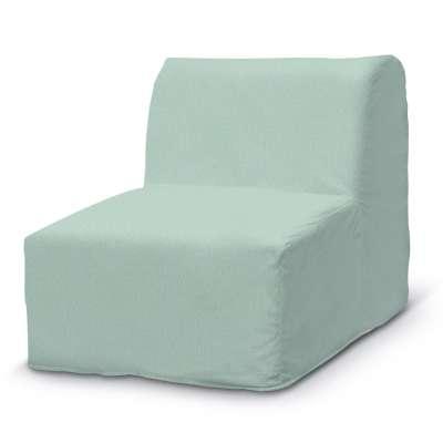 Pokrowiec na fotel Lycksele prosty 161-61 pastelowy błękit Kolekcja Living