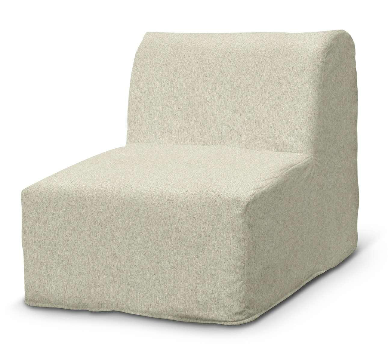 Pokrowiec na fotel Lycksele prosty w kolekcji Living, tkanina: 161-62