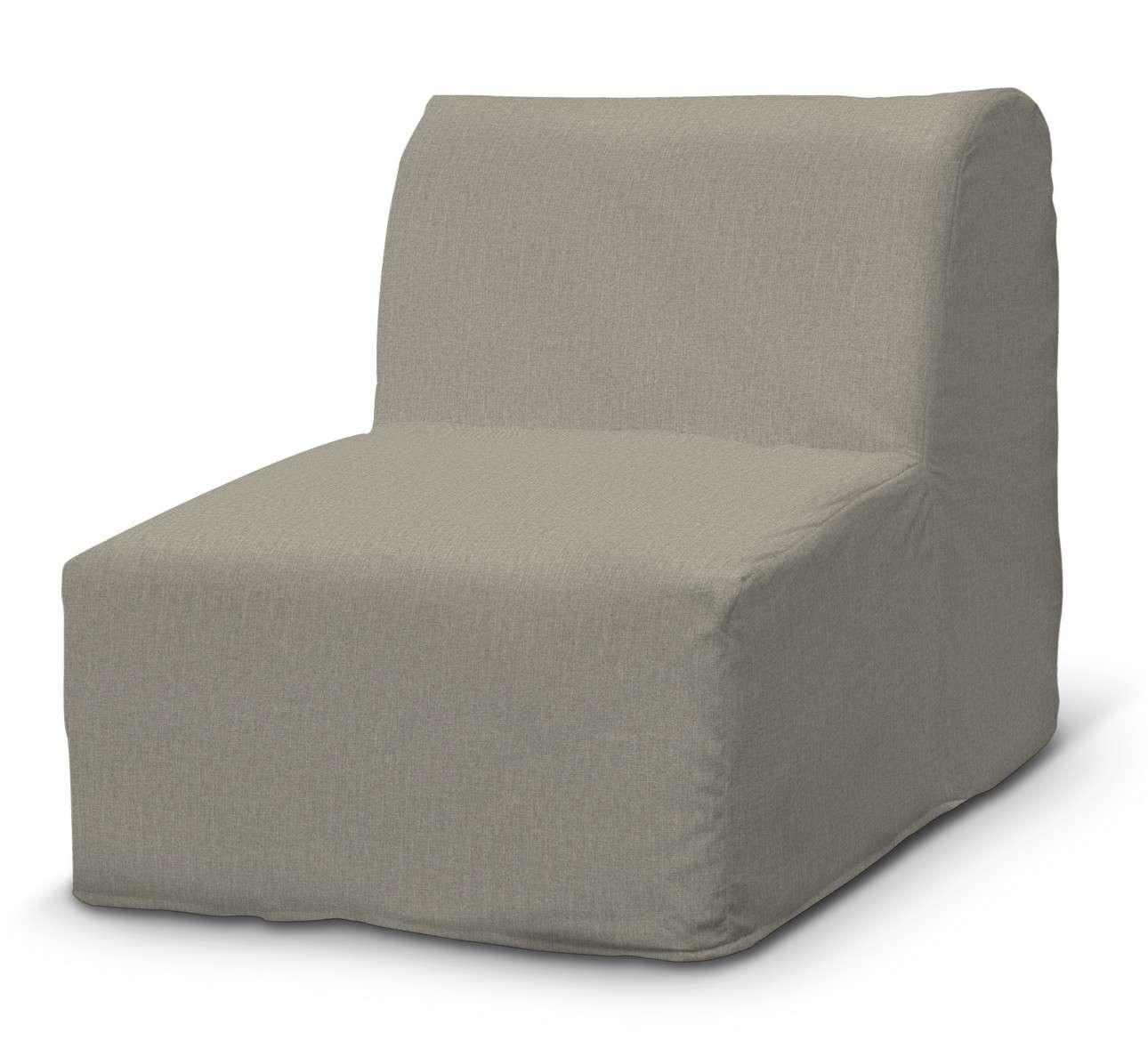Pokrowiec na fotel Lycksele prosty w kolekcji City, tkanina: 704-80