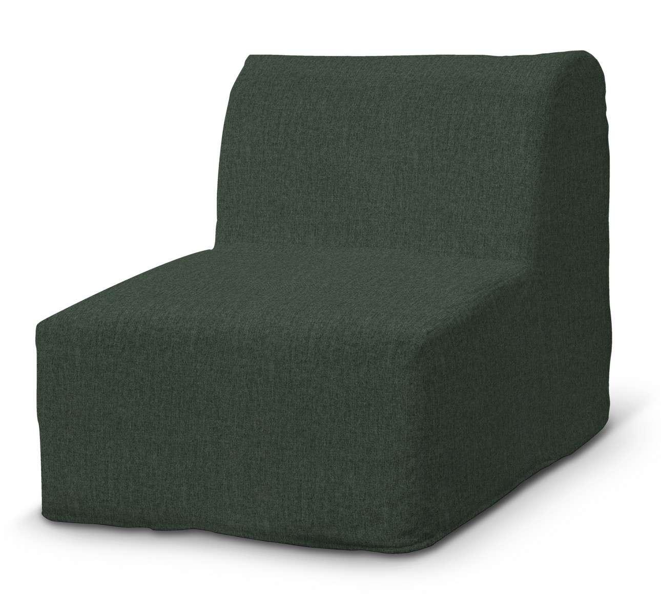 Pokrowiec na fotel Lycksele prosty w kolekcji City, tkanina: 704-81
