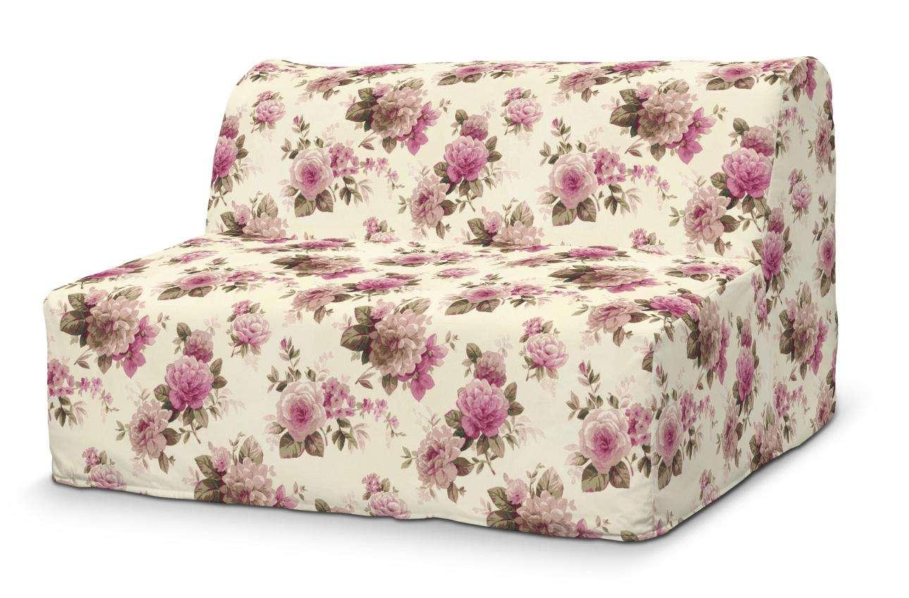 Pokrowiec na sofę Lycksele prosty w kolekcji Mirella, tkanina: 141-07