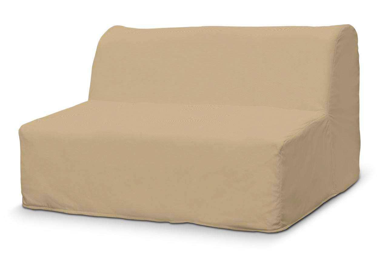 Pokrowiec na sofę Lycksele prosty sofa Lycksele w kolekcji Cotton Panama, tkanina: 702-01