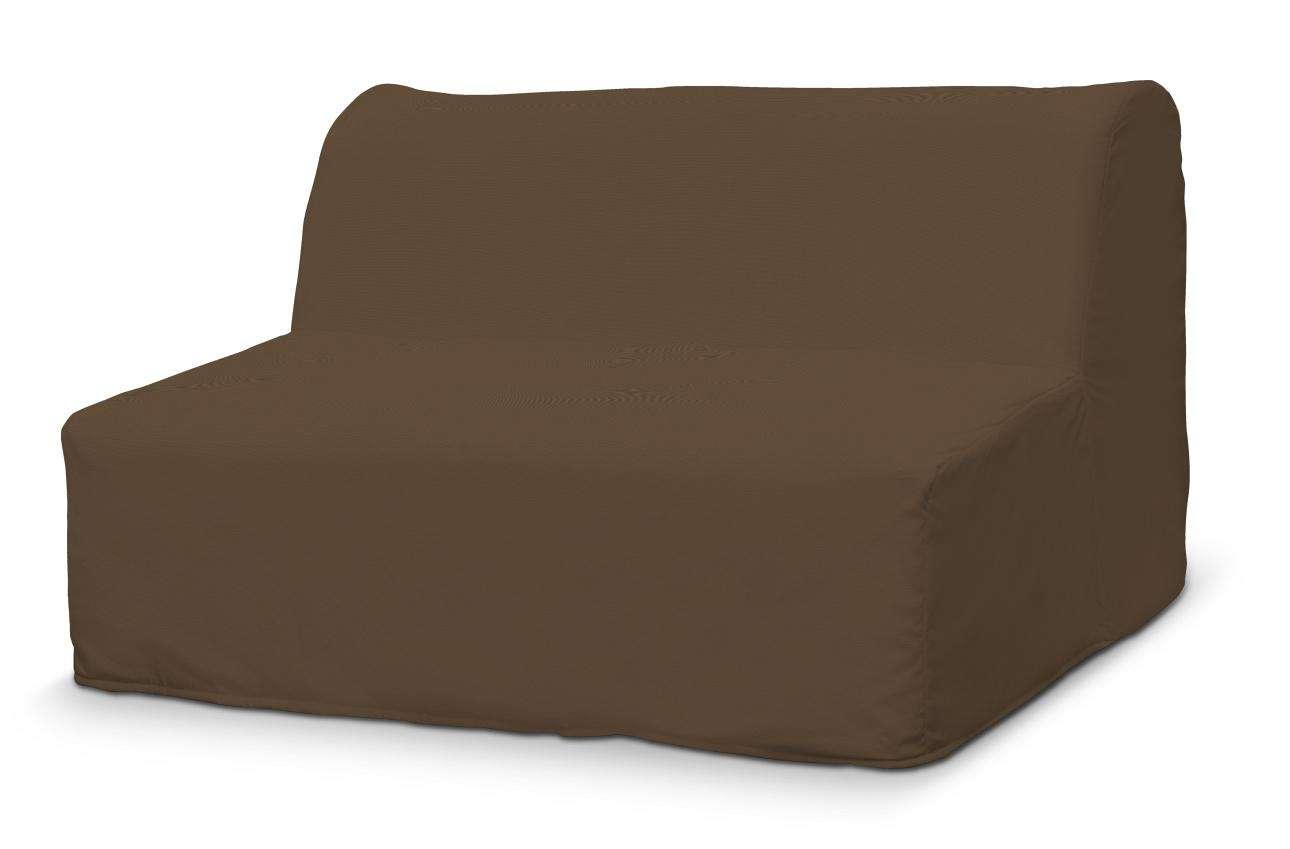 Pokrowiec na sofę Lycksele prosty w kolekcji Cotton Panama, tkanina: 702-02
