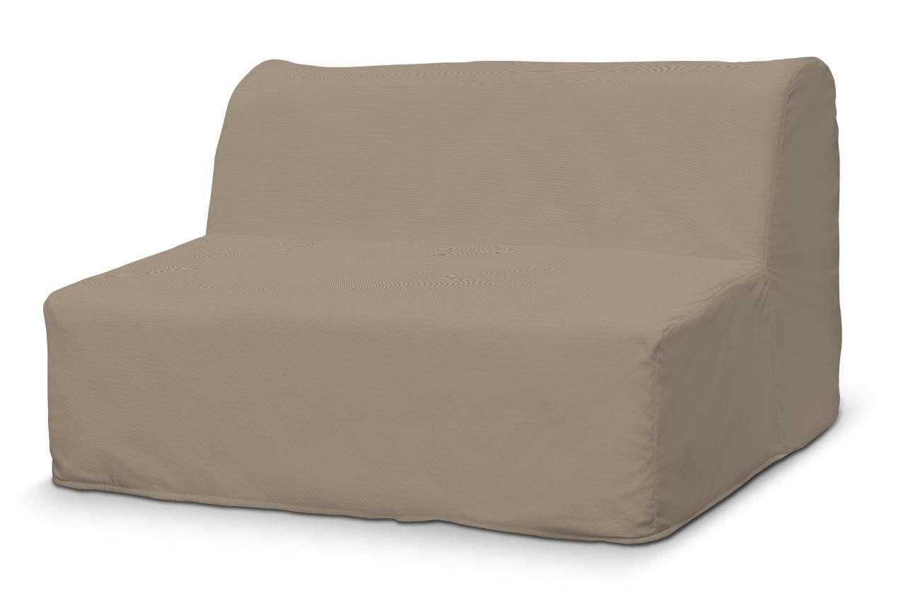 Pokrowiec na sofę Lycksele prosty sofa Lycksele w kolekcji Cotton Panama, tkanina: 702-28