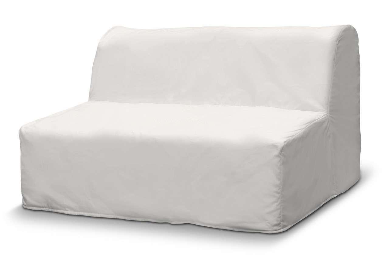 Pokrowiec na sofę Lycksele prosty w kolekcji Cotton Panama, tkanina: 702-34