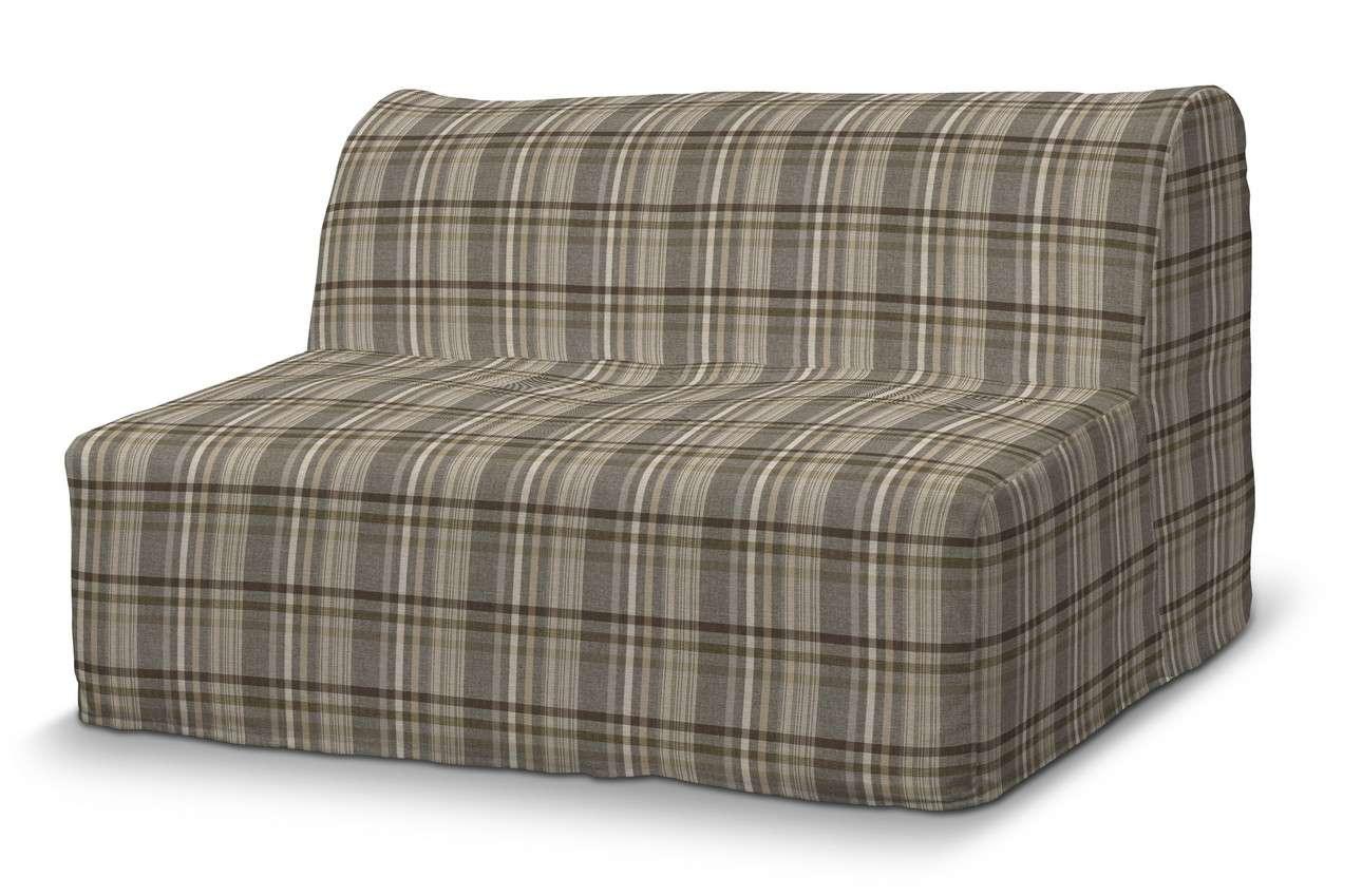 Pokrowiec na sofę Lycksele prosty w kolekcji Edinburgh, tkanina: 703-17