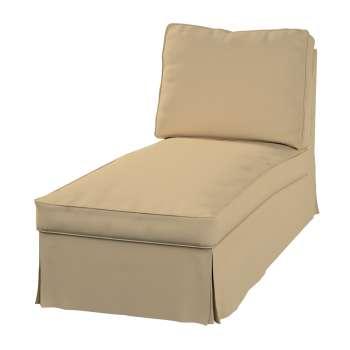 Ektorp Bezug für Recamiere ohne Armlehne, neues Modell Chaiselounge Ektorp  von der Kollektion Cotton Panama, Stoff: 702-01