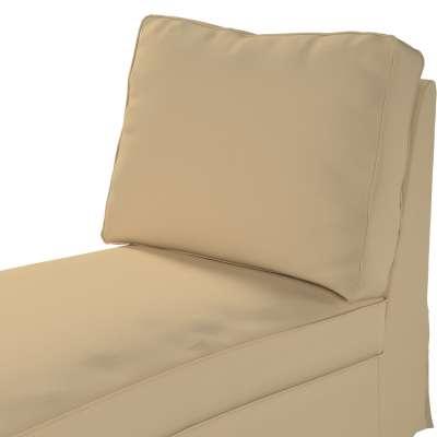 Pokrowiec na szezlong/ leżankę Ektorp wolnostojący prosty tył w kolekcji Cotton Panama, tkanina: 702-01