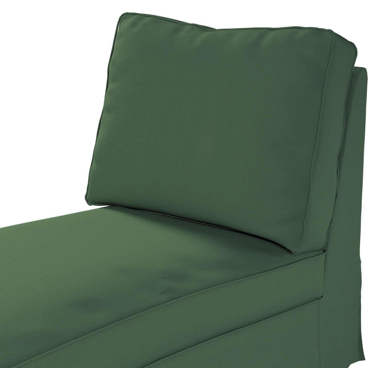 Pokrowiec na szezlong/ leżankę Ektorp wolnostojący prosty tył w kolekcji Cotton Panama, tkanina: 702-06