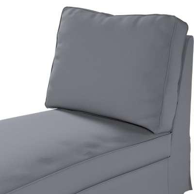 Pokrowiec na szezlong/ leżankę Ektorp wolnostojący prosty tył w kolekcji Cotton Panama, tkanina: 702-07