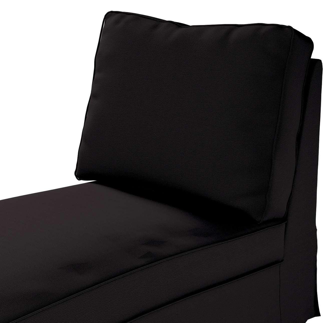Pokrowiec na szezlong/ leżankę Ektorp wolnostojący prosty tył w kolekcji Cotton Panama, tkanina: 702-08
