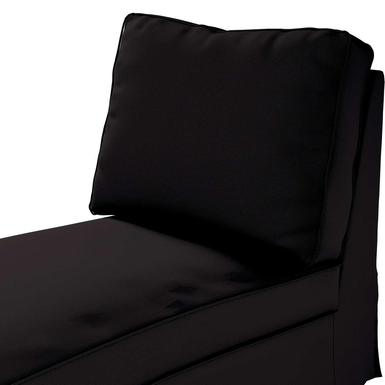 Bezug für Ektorp Recamiere ohne Armlehne, neues Modell von der Kollektion Cotton Panama, Stoff: 702-09