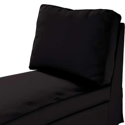 Pokrowiec na szezlong/ leżankę Ektorp wolnostojący prosty tył w kolekcji Cotton Panama, tkanina: 702-09