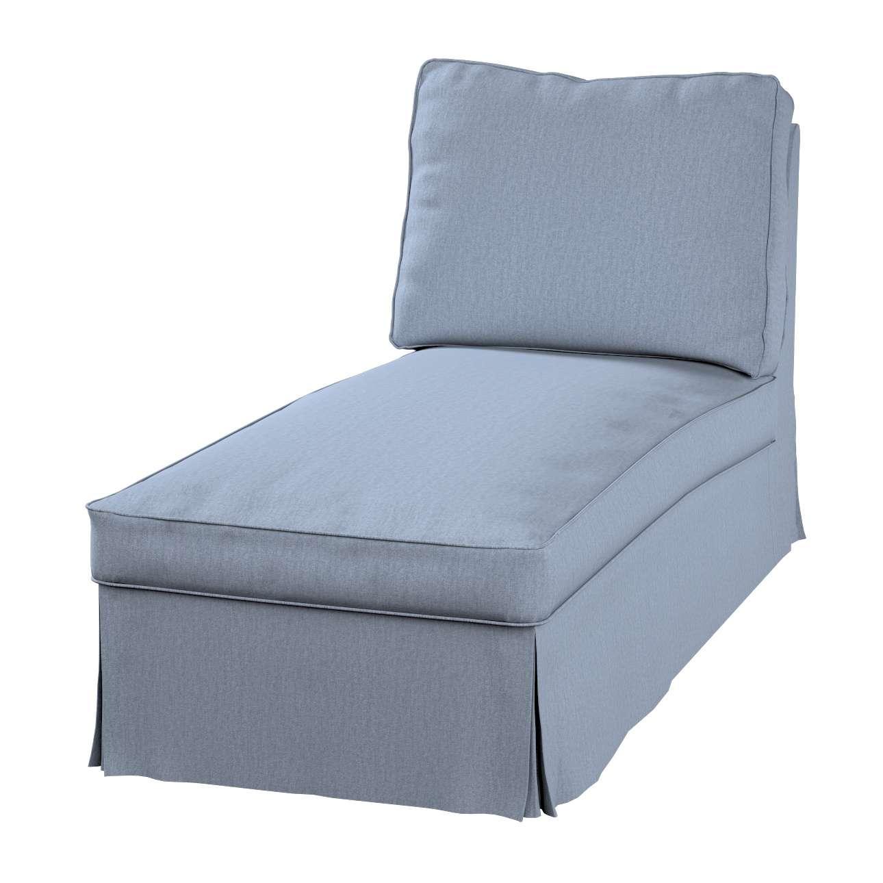 Ektorp gulimojo krėslo užvalkalas (be porankių, tiesus atlošas) Ektorp gulimasis krėslas be porankių, tiesiu atlošu, be suapavalinimų kolekcijoje Chenille, audinys: 702-13