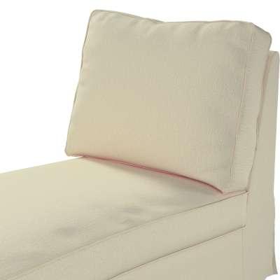 Pokrowiec na szezlong/ leżankę Ektorp wolnostojący prosty tył w kolekcji Chenille, tkanina: 702-22