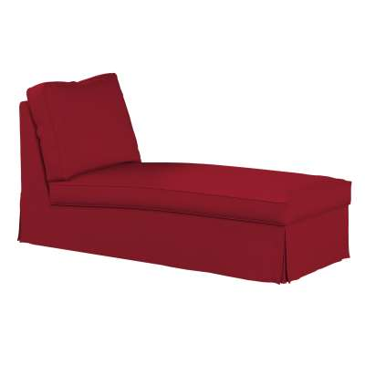 Ektorp chaise longue cover (with a straight backrest) 702-24 red chenille Collection Chenille