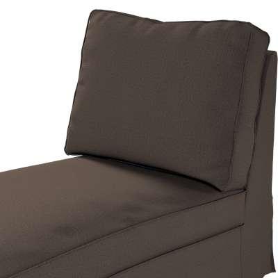 Bezug für Ektorp Recamiere ohne Armlehne, neues Modell von der Kollektion Etna, Stoff: 705-08