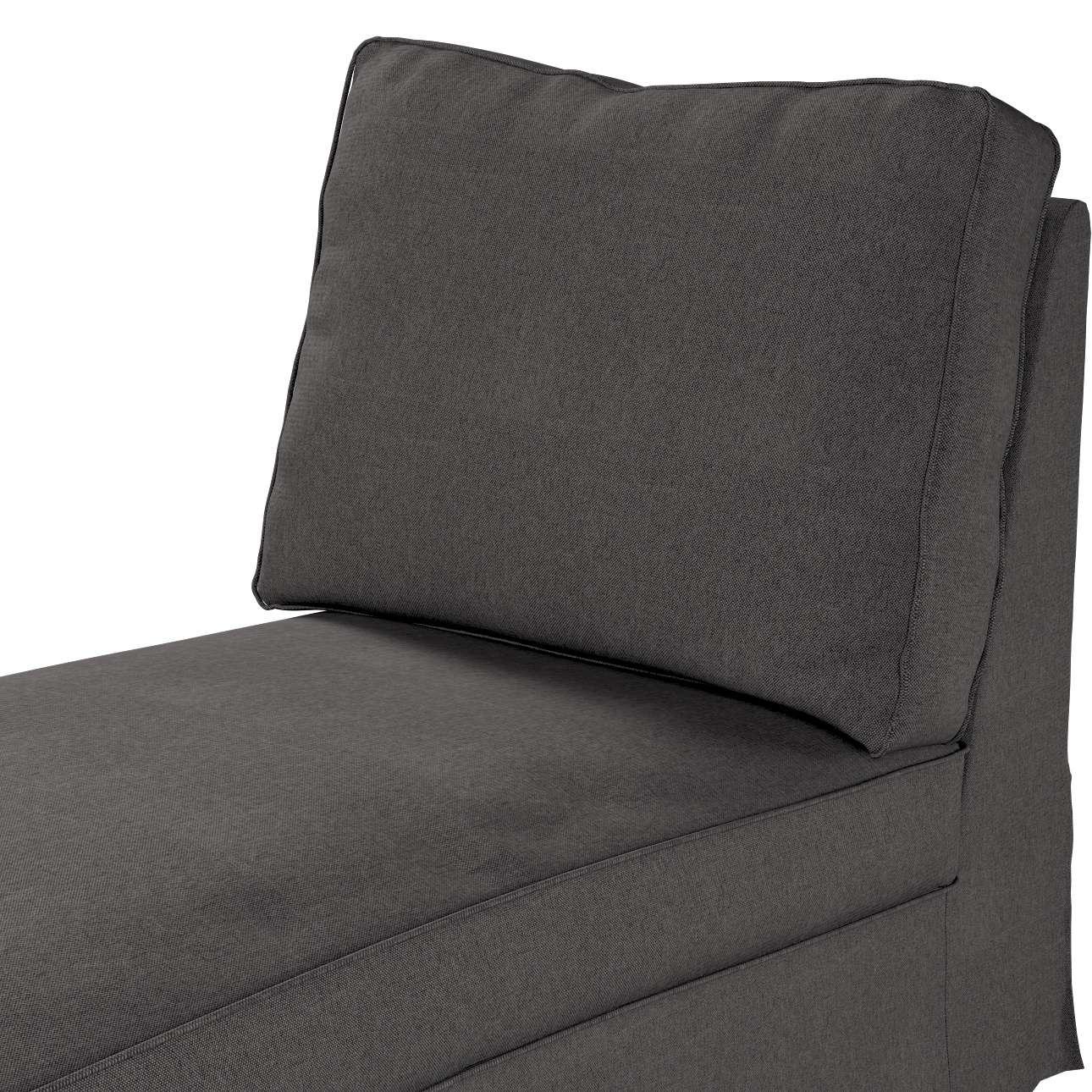 Bezug für Ektorp Recamiere ohne Armlehne, neues Modell von der Kollektion Etna, Stoff: 705-35