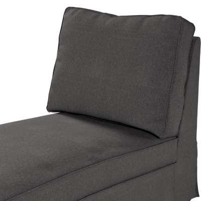 Pokrowiec na szezlong/ leżankę Ektorp wolnostojący prosty tył w kolekcji Etna, tkanina: 705-35